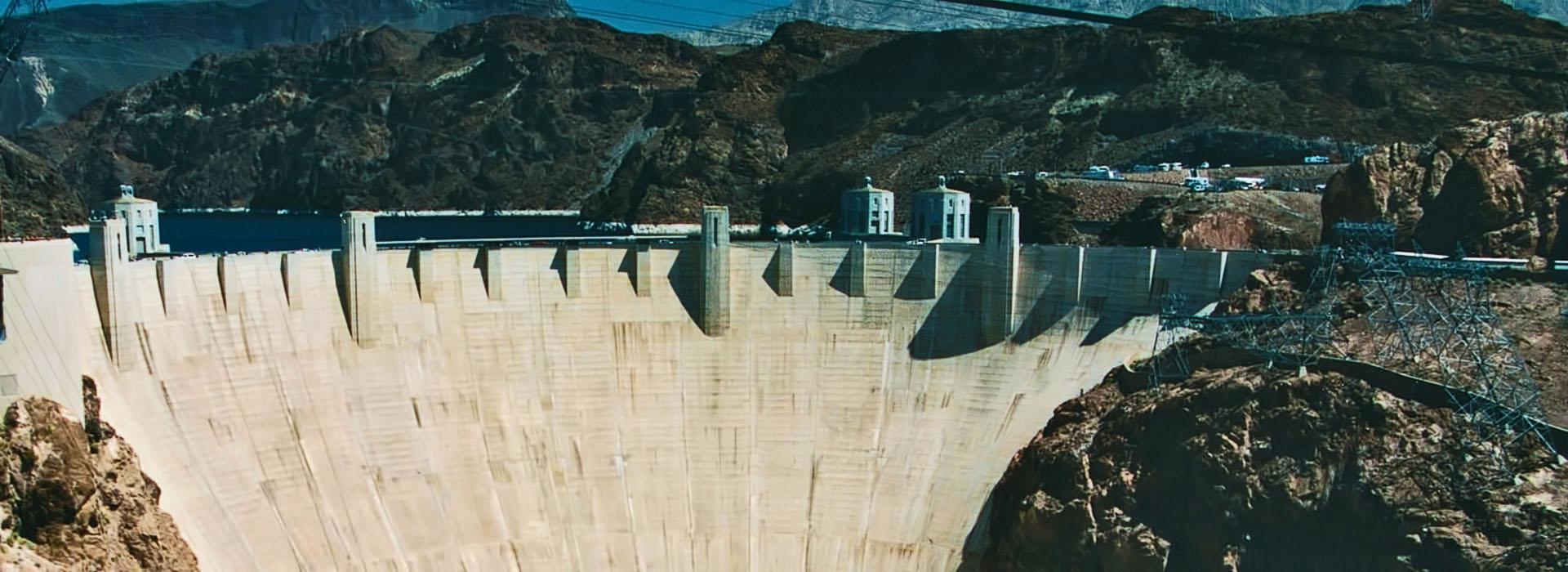 Hoover Dam • Concrete Gravity-Arch