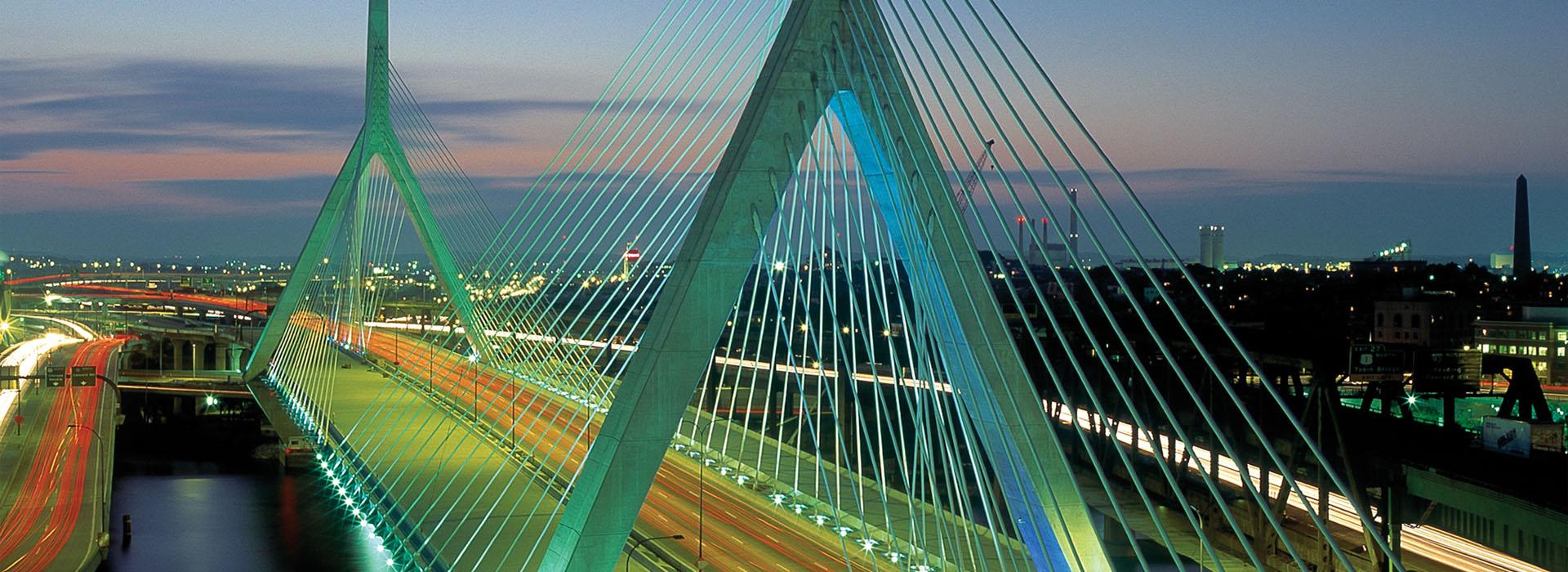 Zakim Bunker Hill Bridge • Boston, Massachusetts